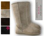 :: GLACE PEARLS :: Winter Ugg Boots (black) rigged mesh