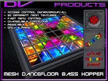 DV -BOX Mesh dancefloor  the Bass hopper