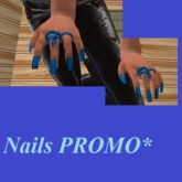 Nails GIFT * blue