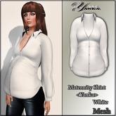 Maternity Shirt Mesh <Yanka> White