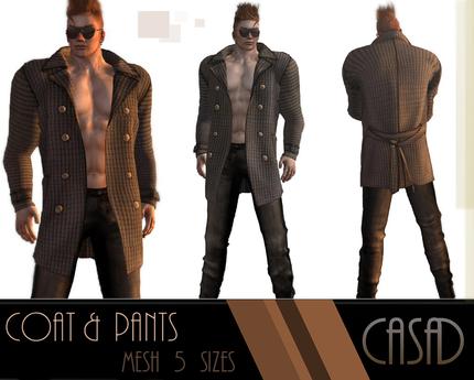 casa Mesh Coat & pants (bute)