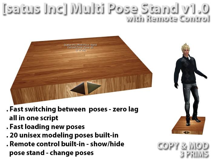 [satus Inc] Multi Pose Stand v1.0