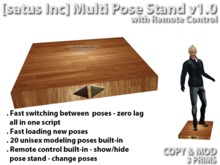 [satus Inc] Multi Pose Stand v1.0