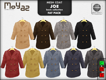 Joe mesh coat ~ basic collection - FATPACK 9 COATS!!!