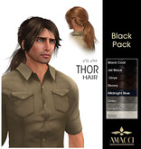 Amacci Hair ~ Thor - Black Pack