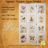 *PV* Nature's Wonders Room Divider