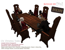 [Tia] Ol' Dining Table (Boxed)