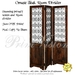 Ornate teak room divider   advert
