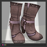 [:ME:] Cowboy Boots (Heather)