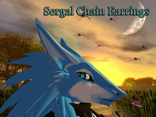 [BB] Sergal Chain Earrings