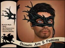 Branch Mask - Black