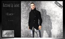[M.o.w] Buttoned Up Coat -Black-  [Bag Wear]