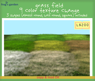 ::FG:: grass field / texture change