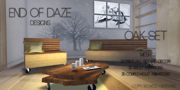 EoD Oak Set