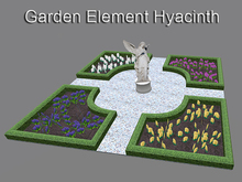 Baroque Garden Element Hyacinth (mesh with only 6 prims)