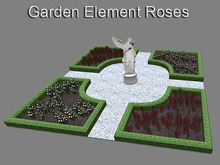 Baroque Garden Element Roses (mesh with only 6 prims)