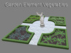 Baroque Garden Element Vegetables (mesh with only 6 prims)