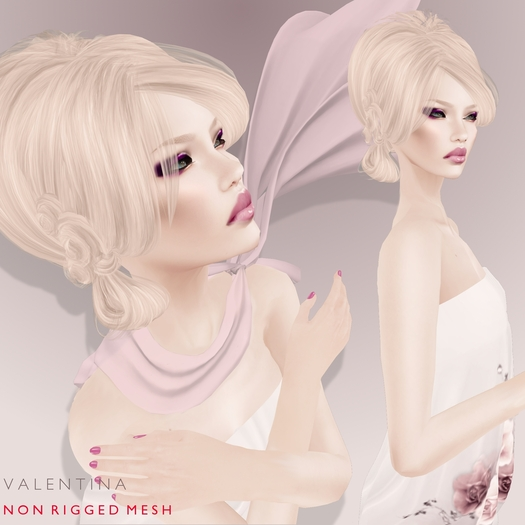 Vanity Hair: Valentina Demo(MESH)