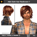A&A Seth Hair Redbrown 1. Mens goth sexy flexi hairstyle.