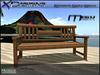 Romantic Beach Bench VERSION COPY