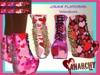 *An@rchy Ink* Crave Platform Boots - Valentine's