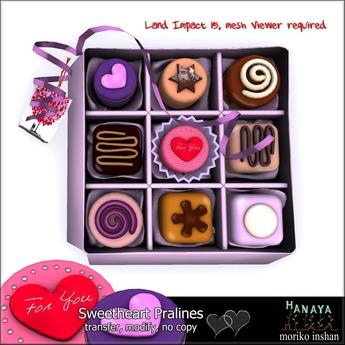 -Hanaya- Sweetheart Pralines [mesh]