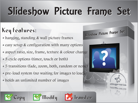 [zED] Slideshow Picture/Photo Frame Set