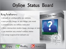 [zED] Customizable Online Status Board