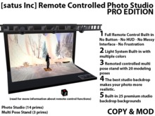 [satus Inc] Remote Controlled Photo Studio Pro Edition