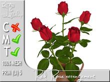 TERRASHOP-Red rose arrangement MT 100% original mesh