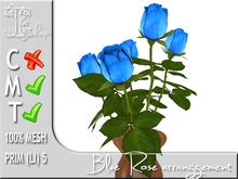 TERRASHOP-Blue rose arrangement MT