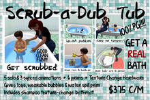 -ML- Family: Scrub-a-Dub Tub (M/C)