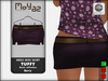 Tuffy Mesh Miniskirt~ basic collection - Berry