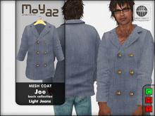 Joe mesh coat ~ basic collection - Light jeans
