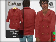 Joe mesh coat ~ basic collection - Red