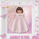 CCC Amberly in Pink - Toddleedoo Only!
