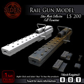 Rail Gun  Model (Box)