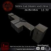 Siden Lab draws and desk