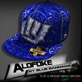 Alofoke!  -  NY Blue Bandana Cap