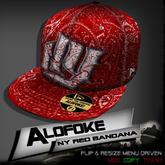 Alofoke!  -  NY Red Bandana Cap