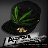 .:: Alofoke Designs ::. Kush Grass Cap