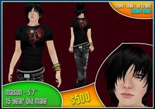 *Zanzo* Mason shape (15yo male) ~ young boy / teenage boy shape