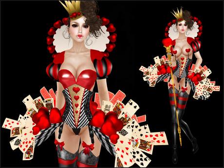 Boudoir-Queen of Hearts