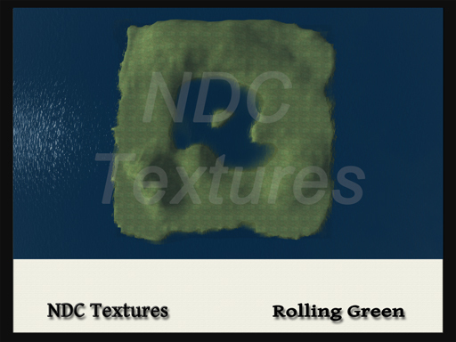 [NDC] Terrain Map - Rolling Green.  Licenced for all compatible grids.
