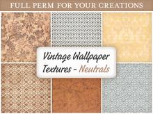 [croire textures] vintage wallpaper (neutrals) (boxed)