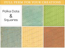 [croire textures] polka dots & squares (boxed)