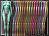 GALLACTIC: Sheer Circuit Latex Cybersuit - All Colors