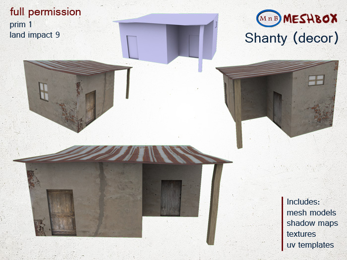 *M n B* Shanty decor (meshbox)