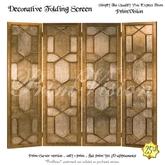 *PV* Decorative Folding Screen