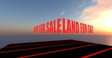 Land For Sale Sign (Animated) + Notecard Giver 1.5